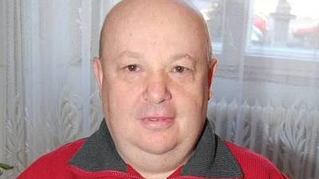 Starosta SDH Strážov Karel Fürbacher