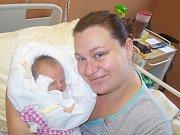 Gabriela Davidová z Tajanova (2940 g, 48 cm) se narodila v klatovské porodnici 10. října v 5.44 hodin. Rodiče Martina a Michal přivítali očekávanou prvorozenou dceru společně na svět.