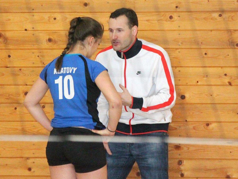 Volejbal, český pohár žákyň: Klatovy - Polička