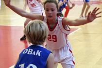 Basketbal U11 Klatovy dívky - DBaK Plzeň
