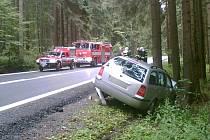 Dopravní nehoda u Javorné
