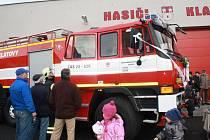Klatovští dobrovolní hasiči pokřtili novou tatru