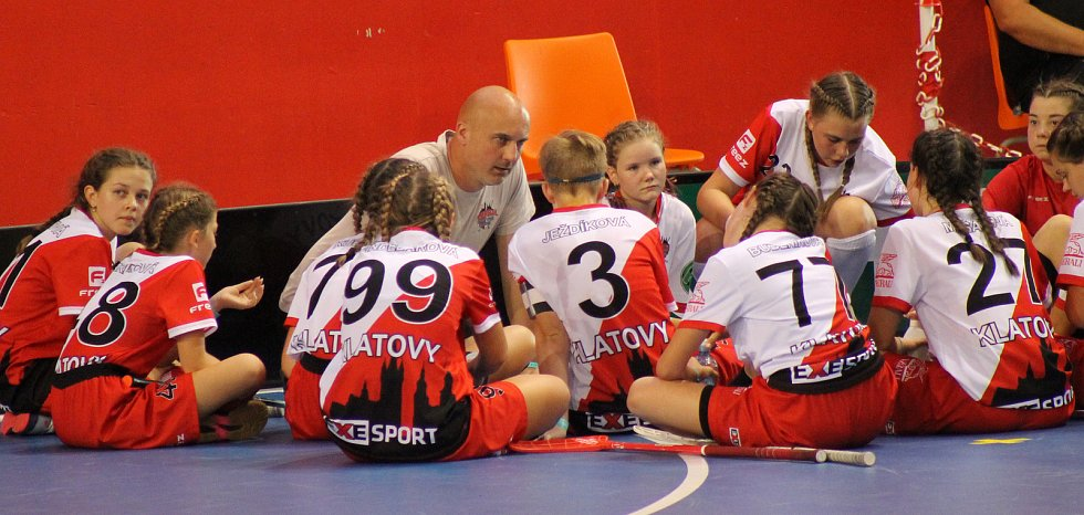Radek Mašát se svým týmem.