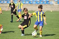 Pořádají nábory malých fotbalistů.