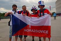 Fanoušci při zápasu Česko - Rusko fandili v hospůdkách i v Polsku