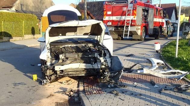 Nehoda v Janovicích.