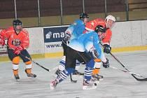 Šumavská liga amatérského hokej HC Nýrsko 2009 - AHC Vačice 1:7.