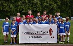 Fotbalový tábor Jana Sýkory.