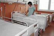 Interní oddělení v nové Klatovské nemocnici
