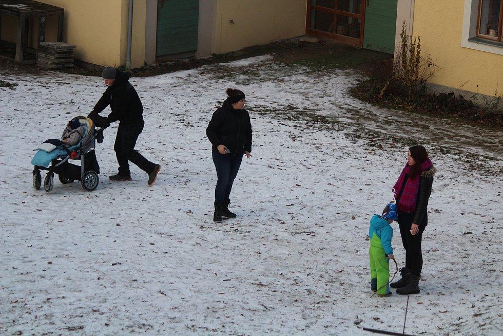 Nový rok na Bolfánku v Chudenicích.