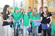 ZŠ Plánickou v Klatovech navšívili žáci z Ruska