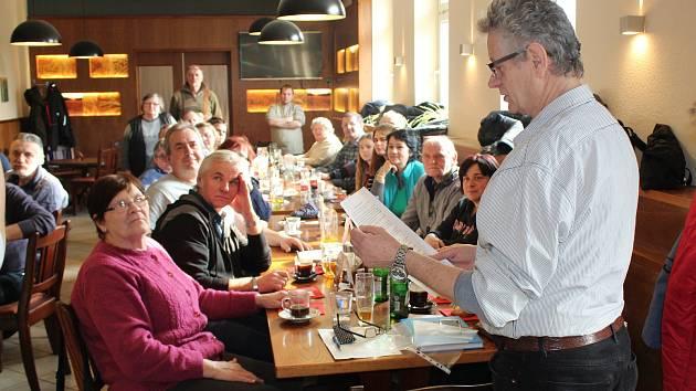 Setkání neslyšících v Klatovech.