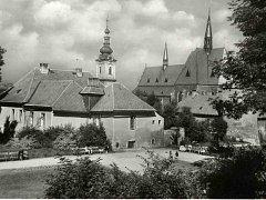 Bývalá městská nemocnice v Klatovech