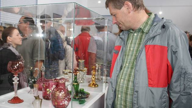 Otevření sklářského muzea v Anníně.