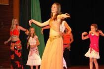 Orientální břišní tanečnice, ilustrační foto.