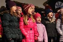 Rozsvícení vánočního stromu v Klatovech 2015