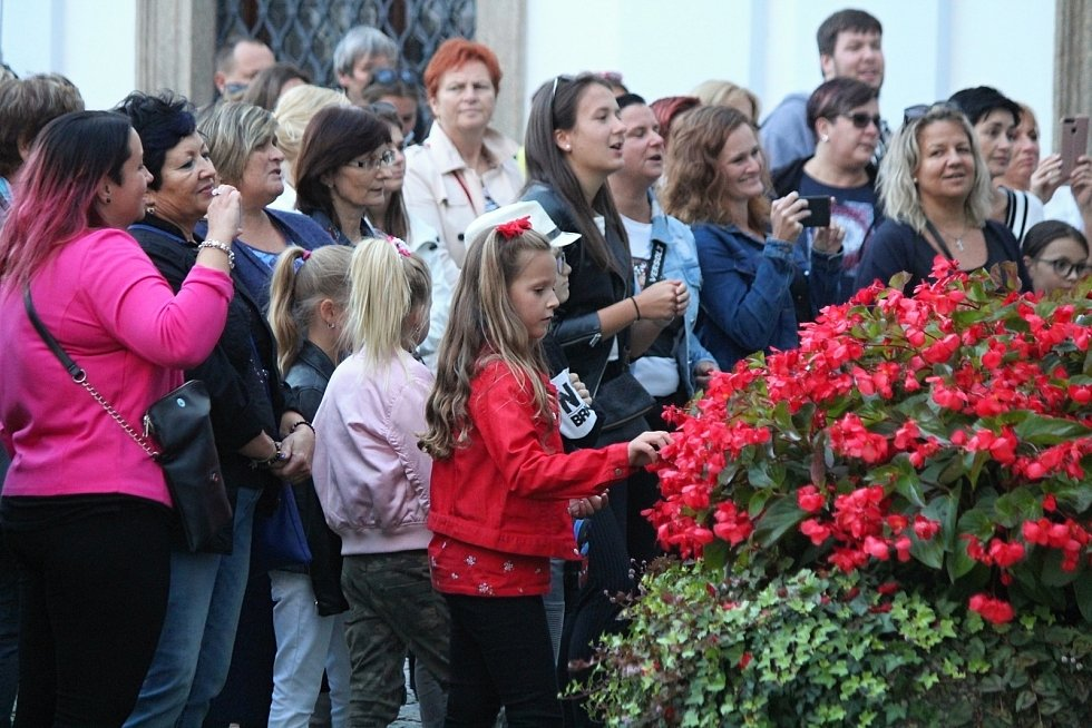 Koncert Marka Ztraceného v Klatovech.
