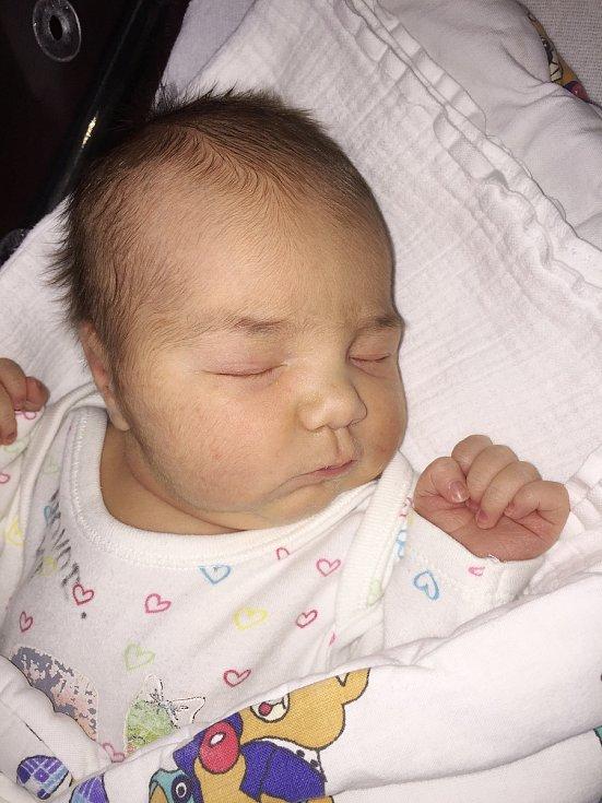 Karolína Švecová z Dolní Lukavice (3590 g, 52 cm) se narodila v Klatovech 20. ledna ve 20.52 h. Rodiče Drahomíra a Michal přivítali očekávanou dceru společně na svět. Na sestřičku se těší Vojta (2,5).