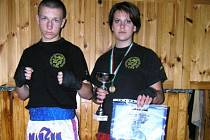Na snímku jsou junioři Václav Pytel a Tereza Martínková.