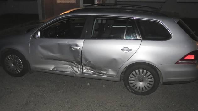 Nehoda v Sušici způsobená opilým řidičem.