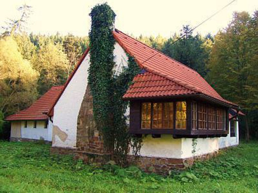 Werichova chata stojí za shlédnutí.