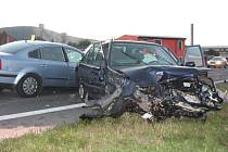 Dopravní nehoda ve Švihově