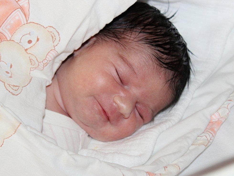 Dominika Danišová z Lub se narodila v klatovské porodnici 7. července ve 21:06 hodin (3350 g, 50 cm). Na prvorozenou dceru se těšila maminka Dominika i tatínek Petr, který byl u porodu velkou oporou.