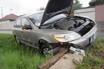 Nehoda v Tajanově.