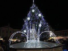 Rozsvícení vánočního stromu v Horažďovicích, v Sušici a ve Švihově.
