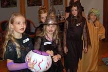 Halloween v klatovské knihovně