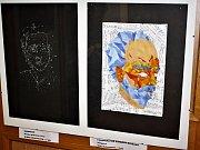 Vernisáž výstavy ZUŠ v klatovské knihovně