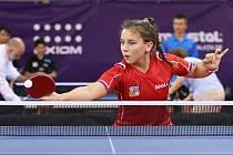 Sušická stolní tenistka Helena Sommerová (na snímku) úspěšně bojovala se světovou konkurencí.