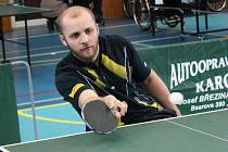 Devatenáctý ročník Ceny Klatov ve stolním tenisu vozíčkářů