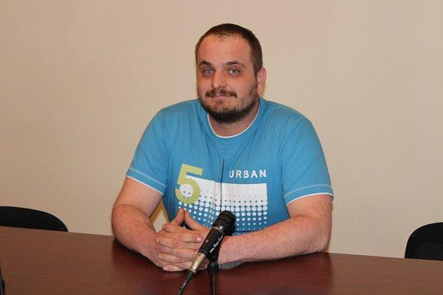 Filip Makula u klatovského soudu.