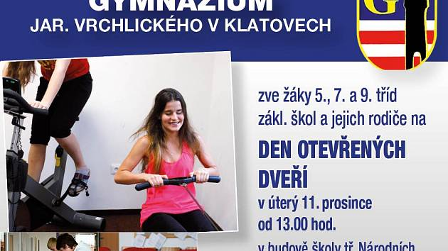 Gymnázium Jaroslava Vrchlického, Klatovy, Národních mučedníků 347