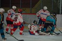 Dorostenci HC Klatovy porazili ve svém desátém  utkání jihočeského krajského přeboru své hosty z HC Strakonice nakonec 9:4, přestože po první třetině prohrávali 1:2