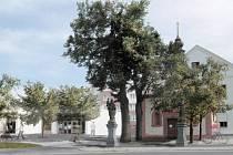 Okolí kaple Chaloupky v Klatovech