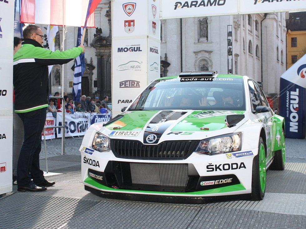 Start 24. Historic Vltava Rallye, Rallye Šumava Legend a 50. Rallye Šumava Klatovy.