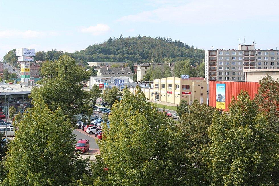 Oprava kulturního domu v Klatovech.