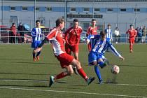 TJ Jiskra Domažlice U19 vs. SK Klatovy 1898 U19 (červení).