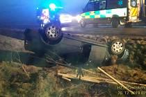 Nehoda u Milče.