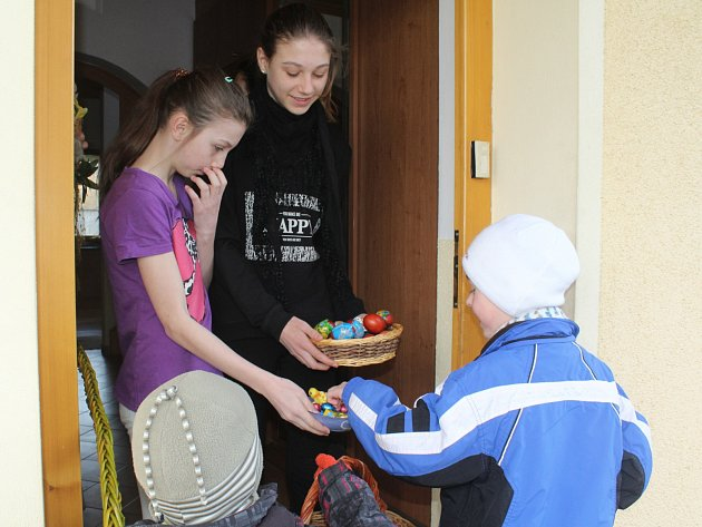 Děti šupaly v Chudenicích, Dolanech i v Klatovech.
