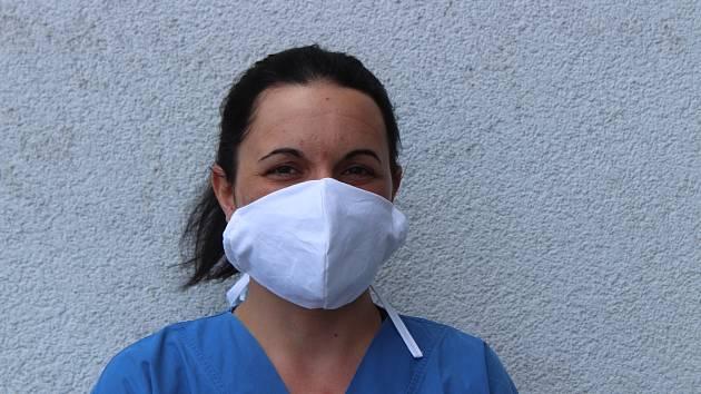 Veronika Křížová z Klatovské nemocnice.