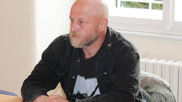 Antonín Kurc u klatovského soudu.
