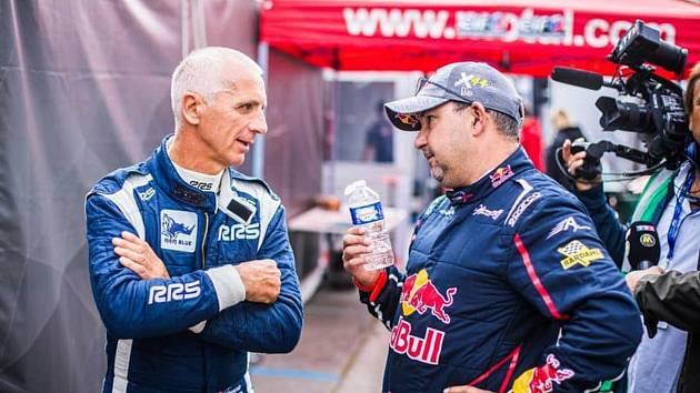 Francois Delecour by se měl příští týden představit na Rallye Pačejov.
