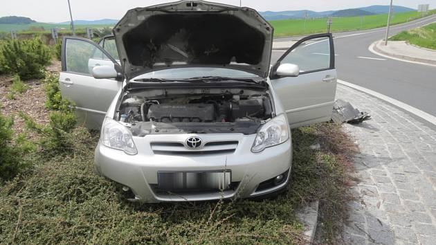 Nehoda u Sobětic.