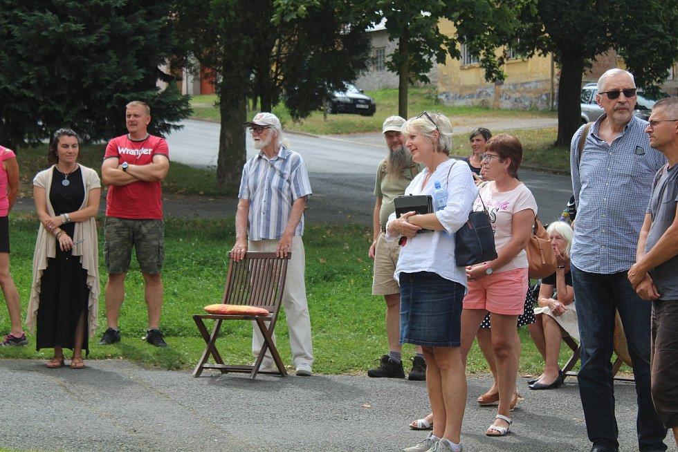 Den entomologa Jana Roubala v Chudenicích.