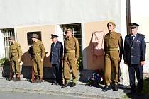 Oslava 75. výročí osvobození v Myslívě.