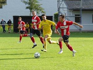 Z utkání Luby B - Budětice (3:2). Foto: FK Budětice 2012