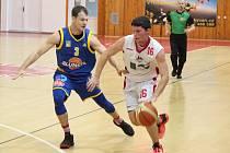 2. liga 2017/2018: BK Klatovy (bílé dresy) - Sluneta USK Ústí nad Labem 59:60